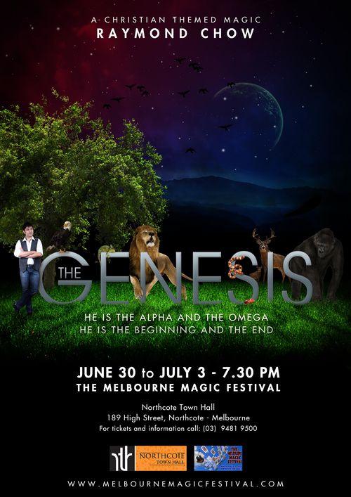 The Genesis PosterA3-JPG